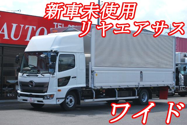 【380】日野レンジャー ワイド アルミウイング ハイルーフ リアエアサス