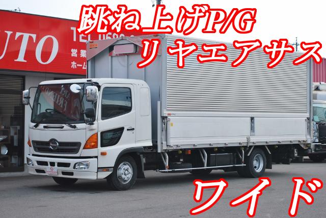 【379】日野レンジャー ワイド アルミウイング 跳ね上げP/G 6200ボデー