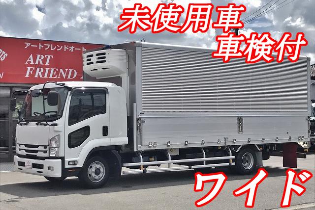 【247】いすゞフォワード ワイド 冷凍ウイング 未使用車 リヤエアサス