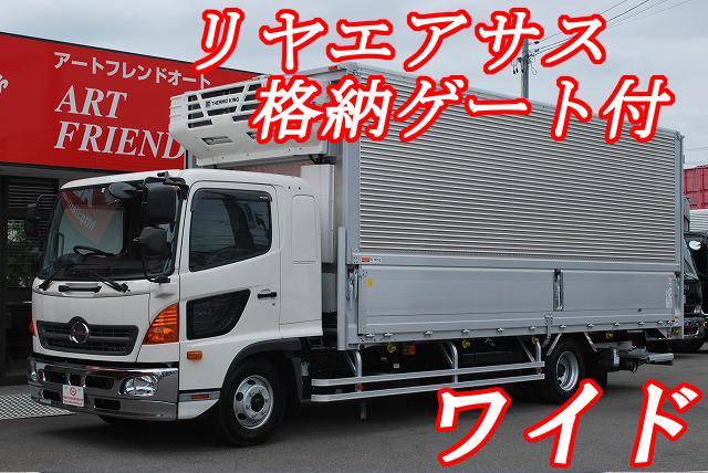 【256】日野レンジャー ワイド 冷凍ウイング 格納ゲート付 リヤエアサス