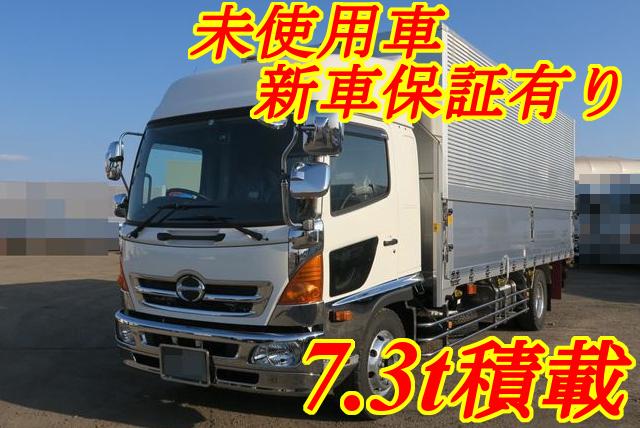 【216】日野レンジャー 増トン アルミウイング リヤエアサス 委託販売