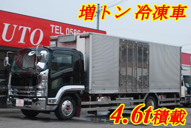 【126】いすゞフォワード 増トン 冷凍バン リヤエアサス