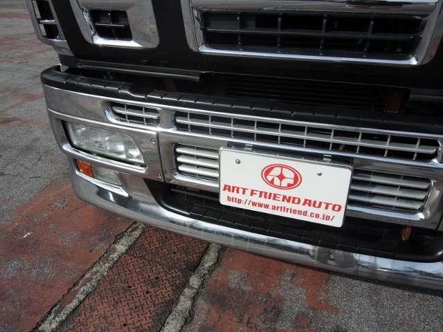 いすゞ ギガ アルミウィング  (ブラック)